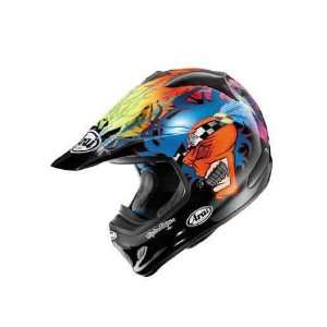 Arai VX Pro 3 Off Road Graphic Helmet. Russell. 814070 Automotive