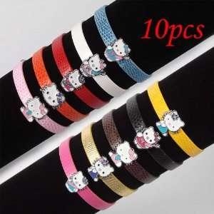 10 Hello Kitty Cute Pendant Bracelet