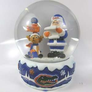 Florida Gators 2011 NCAA Holiday Snow Globe  Sports