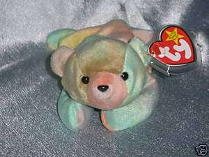 1999 Ty Beanie Baby Sammy Ty dye Bear Born June 23,1998