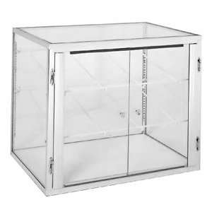 29 Long Counter Top Display Case   One Hinged Glass Door   2 Glass