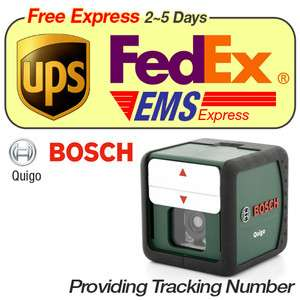 New BOSCH QUIGO Vertical & Horizontal Cross Line Laser Level