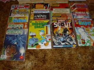 ECLIPSE~STAR~COMICO~DELL~17 COMIC BOOK LOT~