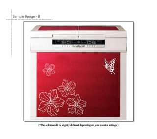 FLOWER & BUTTERFLY MURAL ART DECAL WALL STICKER VINYL