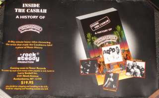 Kiss Casablanca Records Inside Casbah promo poser Gene Simmons Paul