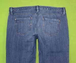 Personal Identity 11 / 12 x 31 Womens Juniors Blue Jeans Denim Pant