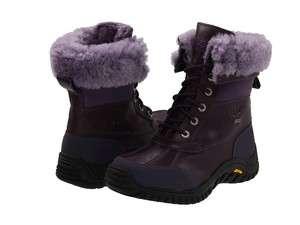 UGG Women Adirondack II Blackberry Wine Waterproof Sheepskin Snow Boot