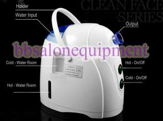 Mini 2in1 Hot&Cold Facial Steamer Skin Care Spa Machine