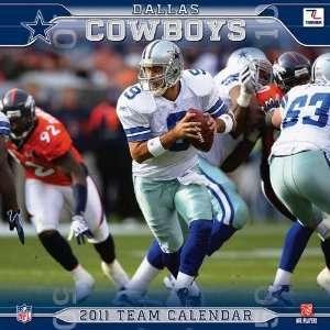 Dallas Cowboys 2011 Wall Calendar: Office Products