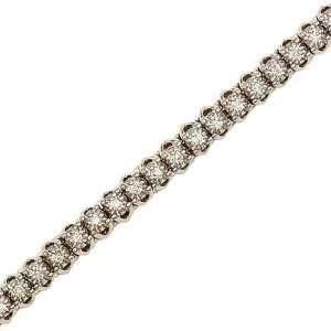 14K Yellow Gold 2 ct. Diamond Tennis Bracelet Katarina