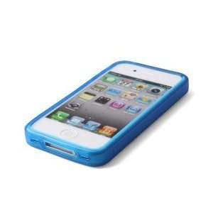 High Quality iPhone 4 Bumper Frame Case   Crystal Blue