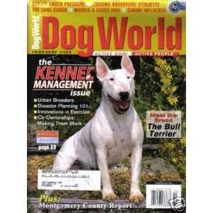 Dog World Magazine February 2006 Bull Terrier (Single Back