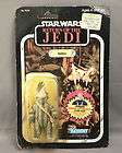 Vintage Kenner Carded Star Wars Action Figure RotJ 65 Back Logray Ewok