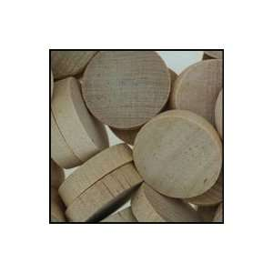 WidgetCo 1 Maple Wood Plugs, End Grain (1 EACH)