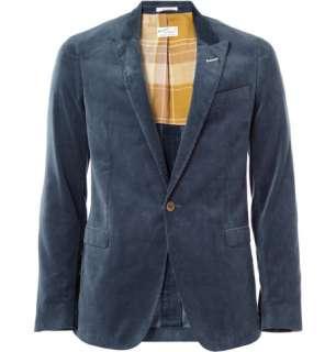 Clothing  Blazers  Single breasted  Corduroy Blazer