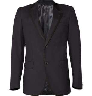 Clothing  Blazers  Single breasted  Grosgrain Trim