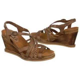 Womens Kickers U Feel Dark Brown Leather Shoes
