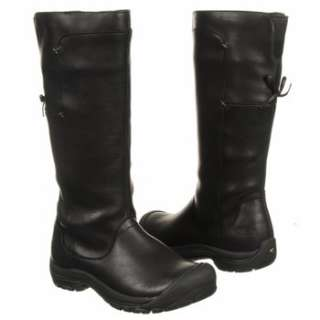 Womens Keen Shelby High Boot Black Leather Shoes