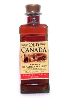 McGuinness Old Canada Vol.40% Canadian Whisky 5060006690006