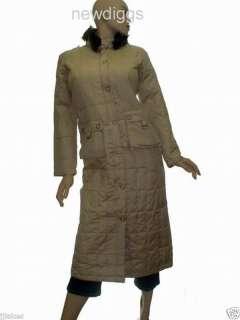 NEW Womens Full Length Winter Down Jacket Coat M or L