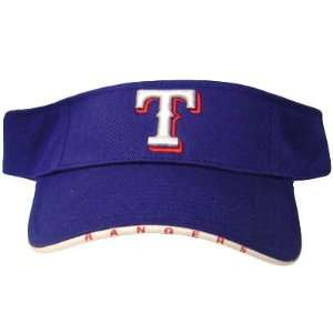 GENUINE MLB TEXAS RANGERS VISOR HAT CAP COTTON BLUE
