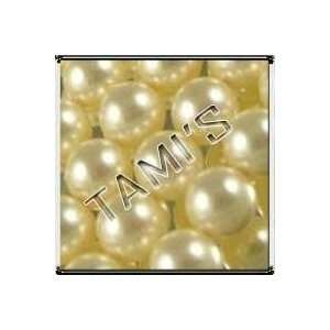 100 SWAROVSKI Crystal Faux PEARLS CREAM 6mm