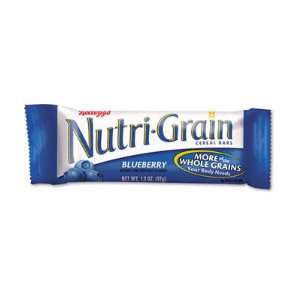 o Kellogg s o   Nutri Grain Cereal Bars, Blueberry, Indv
