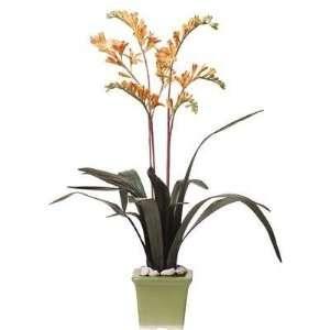 Monte Bertia Silk Flower Arrangement Home & Kitchen