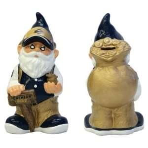 Milwaukee Brewers Garden Gnome Coin Bank Sports & Outdoors