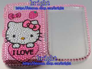 Hello kitty Bling Case For Blackberry Torch 9800 #5