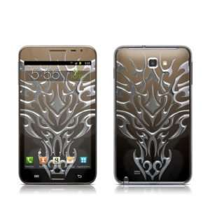 Tribal Dragon Chrome Design Protective Skin Decal Sticker for Samsung