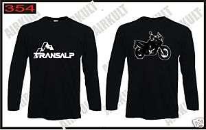 shirt maglia manica lunga TRANSALP moto enduro