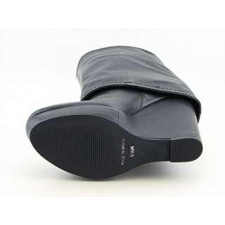 Steven Steve Madden Brix Womens SZ 8 Black Boots Knee Shoes
