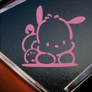POCHACCO DOG PET Pink Decal Car Truck Window Pink Sticker