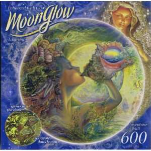 Moon Glow Round Puzzle Josephine Wall, Call of the Sea  Toys & Games