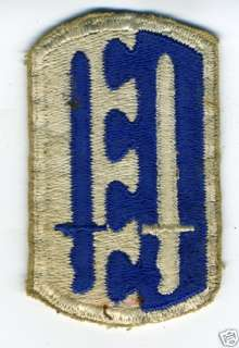 1940s WWII US Military Patch Airborne Infantry Brigade