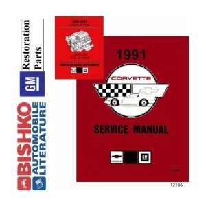 1991 CHEVROLET CORVETTE Shop Service Repair Manual CD Automotive