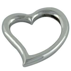 Sterling Silver Fancy Heart Pendant Necklaces Pugster