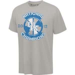 Kentucky Wildcats Silver 2012 NCAA Basketball National