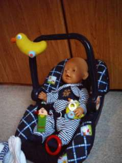 zapf baby born puppe 43 cm junge magische augen fahrrad viel. Black Bedroom Furniture Sets. Home Design Ideas