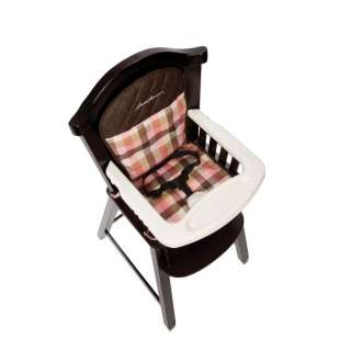 Eddie Bauer Classic Wood Baby/Child/Toddler High Chair   Harmony