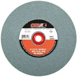 CGW 38503 6 Type 1 Bench Wheel Green Silicon Carbide 100 Grit
