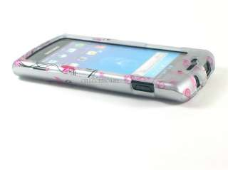 PINK FLOWER COVER CASE FOR SAMSUNG CAPTIVATE GALAXY S