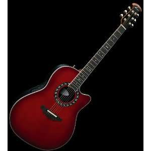 LEGEND ACOUSTIC ELECTRIC GUITAR w/ MOLDED CASE: Musical Instruments