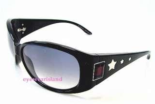 JIMMY CHOO Dylan/S DylanS Shiny Black Shades Sunglasses