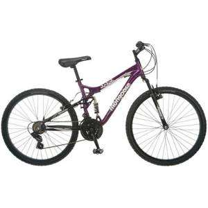 mongoose mt mtb mountain full suspension bike womens