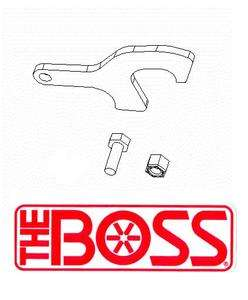 Boss Snow Plow Coupler Latch Kit for RT3 Smart Hitch 2   2003 & Newer