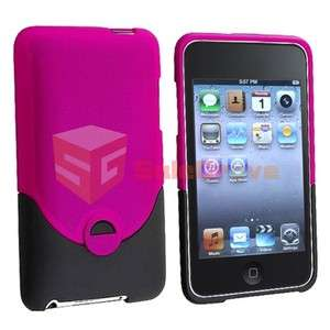 PINK HARD Case Skin COVER Accessory For APPLE iPOD TOUCH 2G 2nd 3G