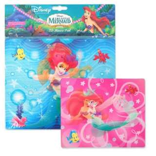 NEW DISNEY LITTLE MERMAID 3D MOUSE PAD, Princess, Ariel, Computer