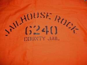 Elvis Presley Jailhouse Rock 6240 County Jail SHIRT M